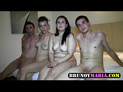 Real Exchange of Spanish Couples Young and Mature 100% Amateur